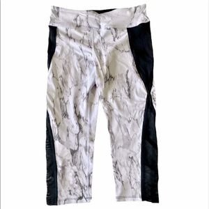 ⭐️NWOT Forever 21 marble cropped athletic pant